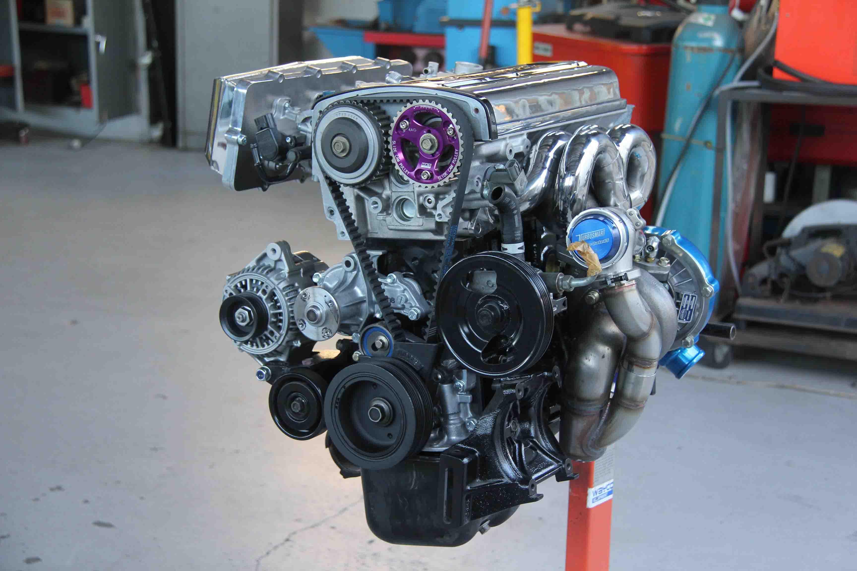 4A-GE เครื่องยนต์ตัวท็อปจากโตโยต้า เหมาะสำหรับผู้ที่รักความเร็ว